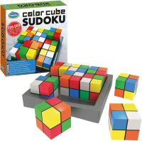 Librería Central - Color Cubes Sudoku. Thinkfun. Ravensburger