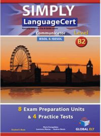 Librería Central - Simply LanguageCert B2 - Communicator Preparation & Practice Tests Self-Study Edition (Student's Book, Self-Study Guide & MP3 Audio CD)