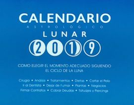 Librería Central - Calendario astrológico lunar 2019