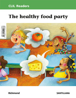 Librería Central - CLIL Readers level II. The healthy food party (9788414102688)