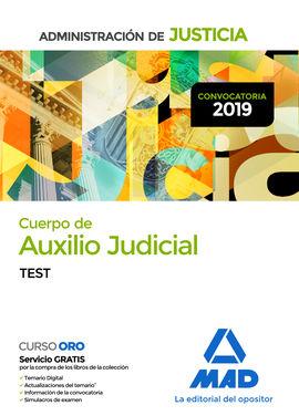 Cuerpo De Auxilio Judicial De La Administración De Justicia Test