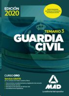 Librería Central - Guardia Civil. Temario Volumen 3