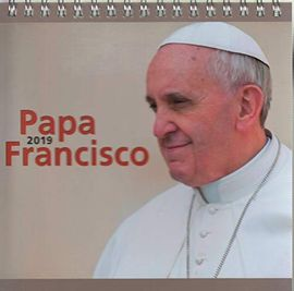 Librería Central - Calendario de mesa 2019. Papa Francisco