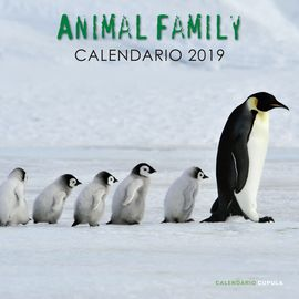 Librería Central - Calendario Animal Family 2019