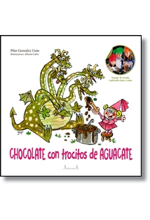 Librería Central - Chocolate con trocitos de aguacate