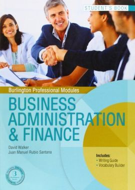 Business Administration & Finance. Student's book